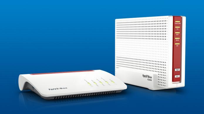 AVM FRITZBox 7590 und 6590 Cable